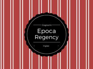 cognomi-regency
